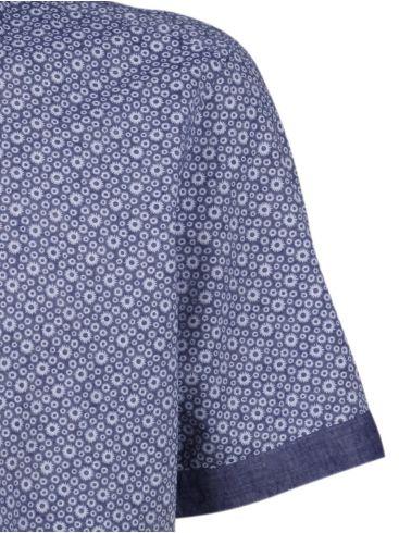 redmond τζιν λινό πουκάμισο, easy iron,