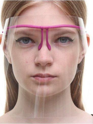 Προσωπίδα Προστασίας με σκελετό γυαλιών