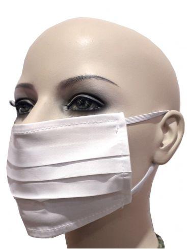 Σετ 6 Υφασμάτινων Μασκών Προστασίας, Πλενόμενες, Μπλέ