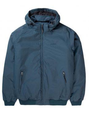 BASEHIT Ανδρικό μπλέ μπουφάν 192.BM10.149DRP MIDNIGHT BLUE