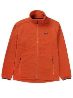 BASEHIT Ανδρική πορτοκαλί ζακέτα φούτερ φλίς 192.BM29.105A CRANBERRY