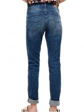 S.OLIVER Γυναικείο ελαστικό ψιλοκάβαλο skinny παντελόνι τζιν