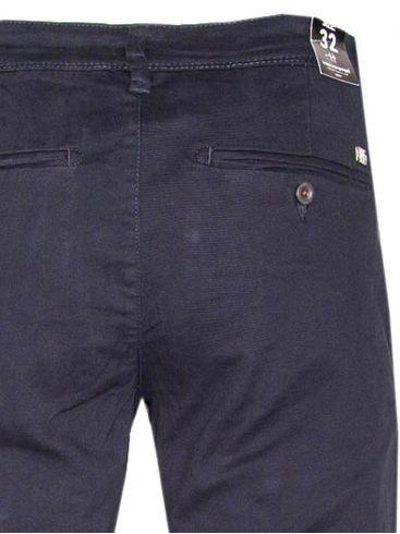 van hipster Ανδρικό μπλέ navy ελαστικό μαλακό τσίνος παντελόνι