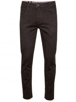 VAN HIPSTER Ανδρικό μαύρο ελαστικό μαλακό τσίνος παντελόνι