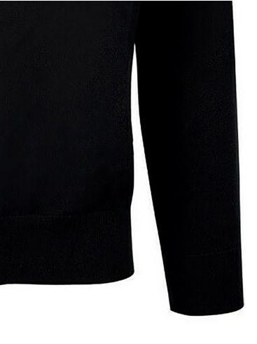 NAUTICA Ανδρική μαύρη πλεκτή μπλούζα με φερμουάρ 3NCS03102 Blue