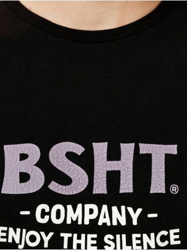 BASEHIT Ανδρική μαύρη μακρυμάνικη μπλούζα 202.BM31.12 Black