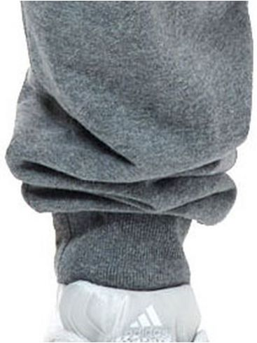 BASEHIT Γκρί φούτερ φόρμα παντελόνι, τσέπες φερμουάρ 202.BM25.50 Dark Grey