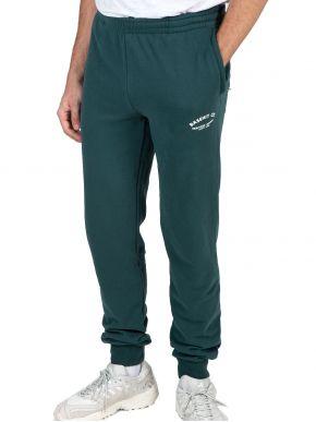 BASEHIT Ανδρική πράσινο φούτερ φόρμα παντελόνι 202.BM25.50 Pine Green