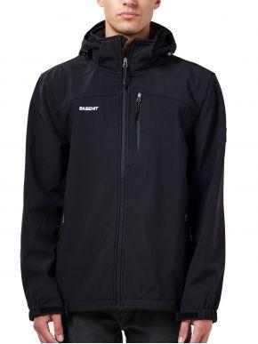 BASEHIT Μαύρο μπουφάν Βluesign® 202.BM11.09 Black