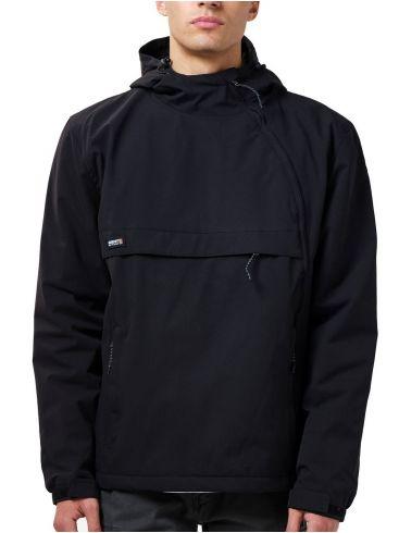 BASEHIT Ανδρικό μαύρο μπουφάν 202.BM10.62 Black