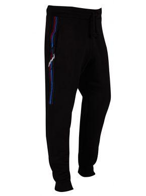 AMERICANINO Ανδρική μαύρη φούτερ τρίκλωνη φόρμα παντελόνι