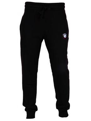 BEAT BOX Ανδρική μαύρη φούτερ φόρμα τρίκλωνη παντελόνι