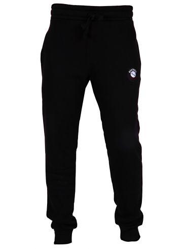 AMERICANINO Ανδρική μαύρη φούτερ φόρμα παντελόνι