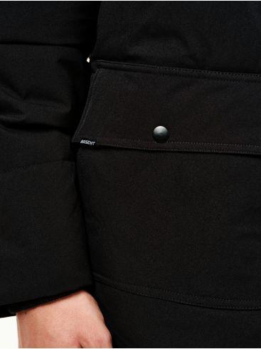 BASEHIT Ανδρικό μαύρο φλίς μπουφάν 202.BM10.14 Black