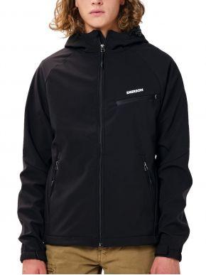 EMERSON Ανδρικό μαύρο μπουφάν 202.EM11.02 Black