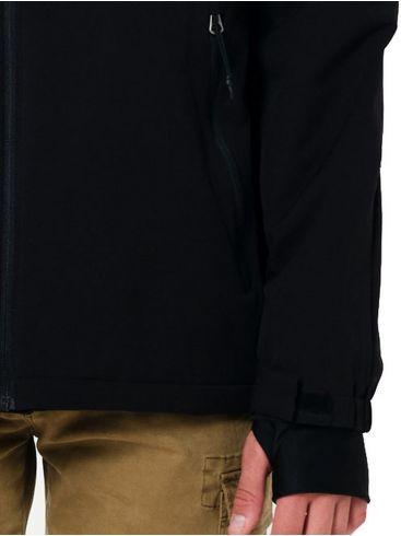 EMERSON Ανδρικό μαύρο φλίς μπουφάν 202.EM10.76 Black