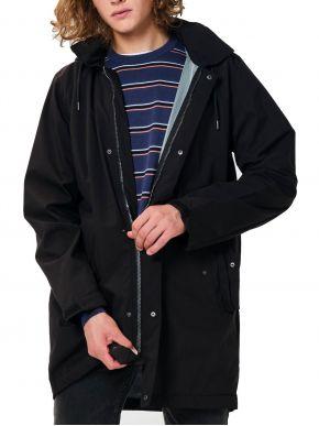 EMERSON Ανδρικό μαύρο αδιάβροχο μπουφάν 202.EM10.195A Black