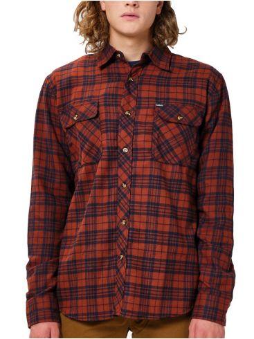 EMERSON Ανδρικό καρό πουκάμισο 202.EM60.80 Em02 Brick Navy