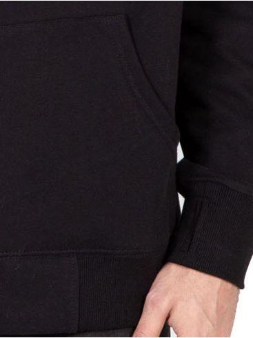 EMERSON Ανδρική ζακέτα φούτερ με κουκούλα 202.EM21.55 Black