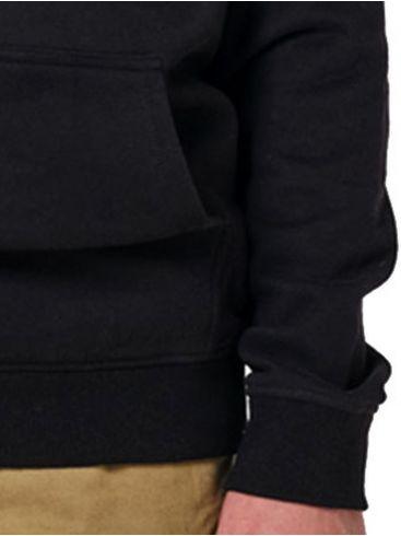 EMERSON Ανδρικό μαύρο φούτερ 202.EM20.57 Black