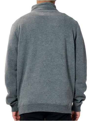 EMERSON Ανδρικό μαύρο φούτερ 202.EM20.57 Dark Grey