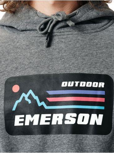 EMERSON Ανδρικό γκρί φούτερ 202.EM20.07 Pine Green