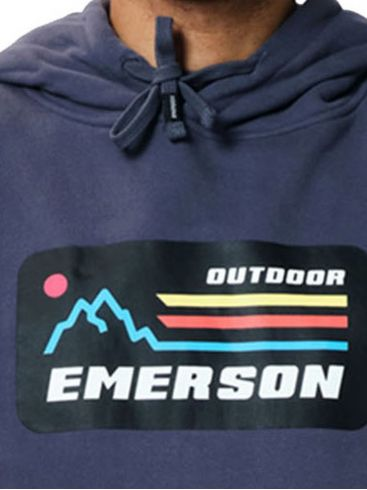EMERSON Ανδρικό μπλέ φούτερ 202.EM20.07 Midnight Blue
