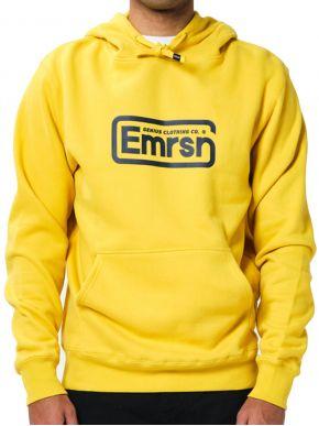 EMERSON Ανδρικό κίτρινο φούτερ 202.EM20.05 Yellow Mustard