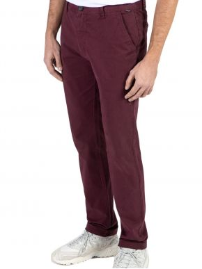 EMERSON Ανδρικό μπορντό παντελόνι 202.EM41.99A Wine
