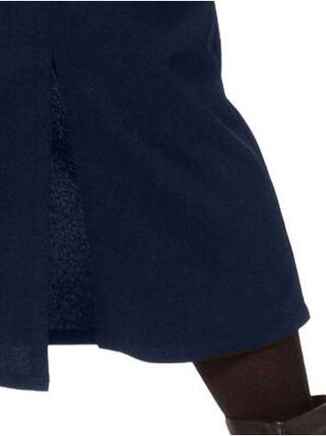 RAXSTA Κόκκινη ψηλόμεση μίντι φούστα