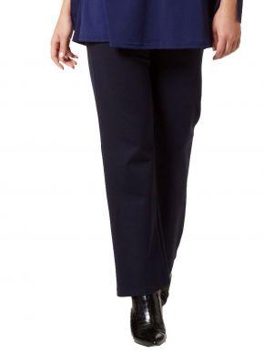 ANNA RAXEVSKY Ίσιο ελαστικό παντελόνι με μπάσκα