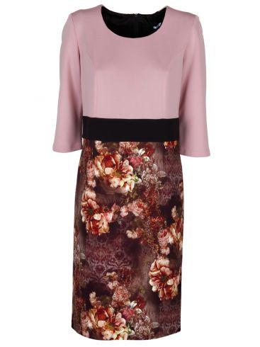 VETO Αμάνικο μπλέ ρουά φόρεμα