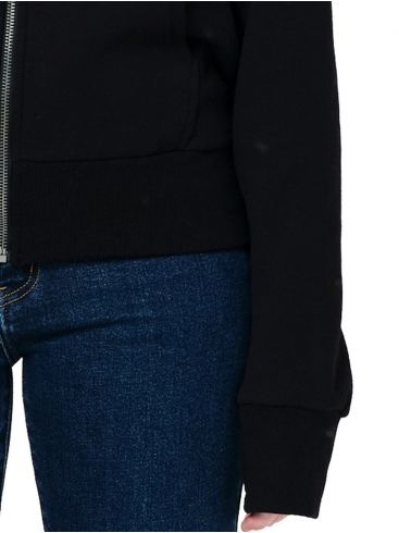 EMERSON Γυναικεία μαύρη ζακέτα φούτερ 202.EW21.59 Black