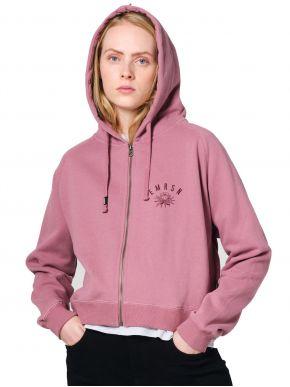 EMERSON Γυναικεία ρόζ ζακέτα φούτερ 202.EW21.43 DUSTY ROSE
