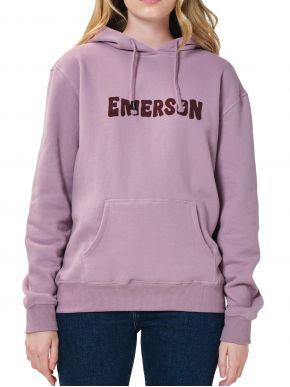 More about EMERSON Γυναικείο λιλά φούτερ, κουκούλα 202.EW20.67 Lilac
