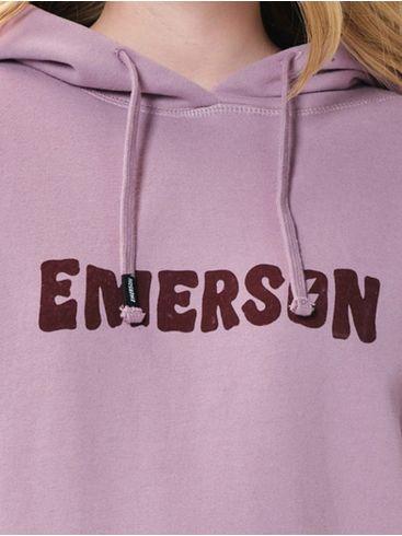EMERSON Γυναικεία ρόζ ζακέτα φούτερ 202.EW20.67 Lilac