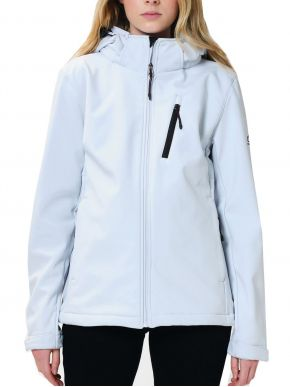 More about EMERSON Γυναικείο λευκό-ice μπουφάν, αποσπώμενη κουκούλα, 202.EW11.31 ICE WHITE