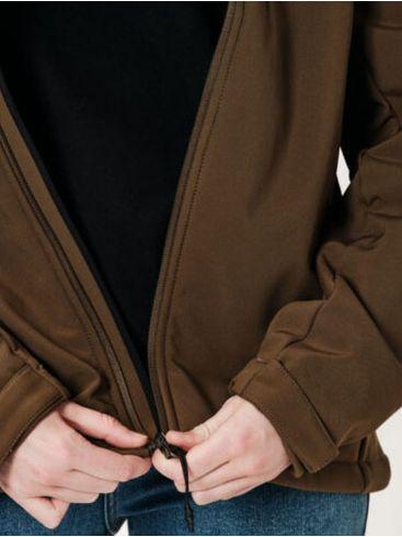 EMERSON Γυναικείο μπουφάν, αποσπώμενη κουκούλα, 202.EW11.31 Olive