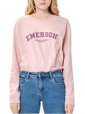 EMERSON Γυναικεία μακρυμάνικη μπλούζα 202.EW31.29 DUSTY PINK