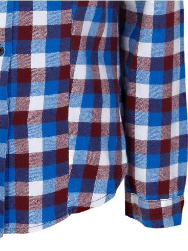 ZUIKI Γυναικείο Ιταλικό μπλέ navy μακρυμάνικο slim fit πουκάμισο με γιακά
