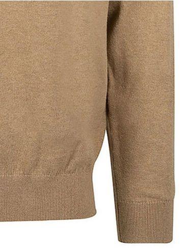 NAUTICA Ανδρική μπλέ πλεκτή μπλούζα με φερμουάρ S03102-45E