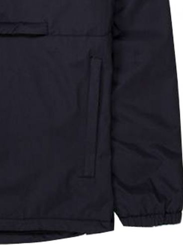 BASEHIT Ανδρικό μαύρο μπουφάν 192.EM10.02 DOBBY BLACK