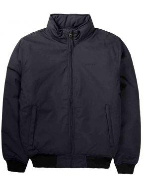EMERSON Ανδρικό μαύρο μπουφάν 192.EM10.08 DOBBY BLACK