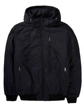 EMERSON Ανδρικό μαύρο μπουφάν 192.EM10.138 DRP BLACK