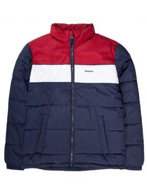 EMERSON Ανδρικό μπλέ κόκκινο μπουφάν 192.EM10.65 RPS NAVY BLUE WHITE RED