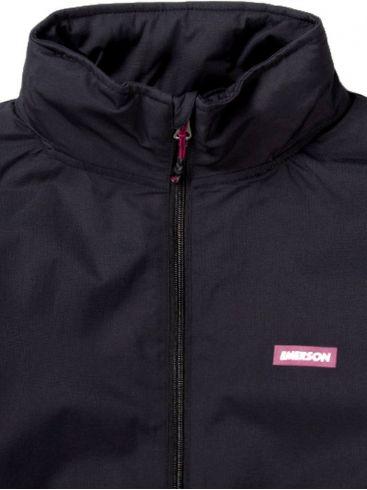 EMERSON Γυναικείο μαύρο μπουφάν 192.EW10.88 DOBBY BLACK