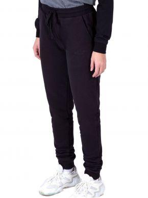 EMERSON Γυναικείο μαύρο παντελόνι φόρμας 202.EW25.61 Black