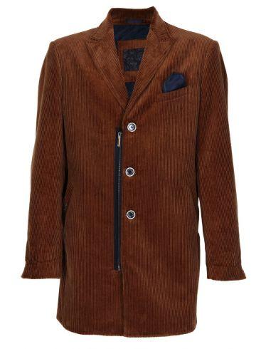 STEFAN Ανδρικό κάμελ μακρύ παλτό
