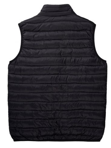BASEHIT Ανδρικό μαύρο αμάνικο μπουφάν 201.BM10.141 NL BLACK
