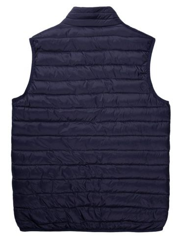 BASEHIT Ανδρικό blue black αμάνικο μπουφάν 201.BM10.141 NL BLUE BLACK